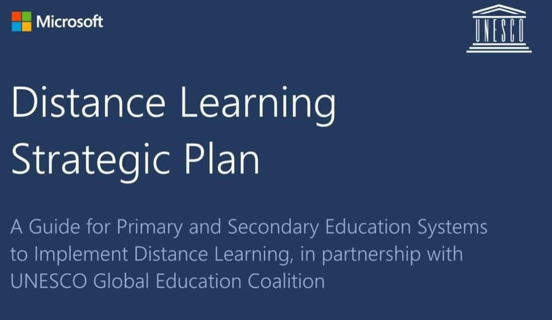 Distance learning strategic plan